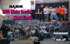 NAAM 2003 Winter Session Finalists