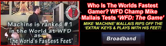 Mike 'Machine' Mallais testing WD: The Game