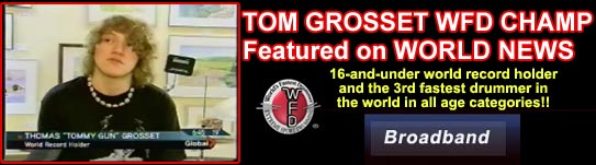 Youngest WFD World Champ Tom Grosset News Video