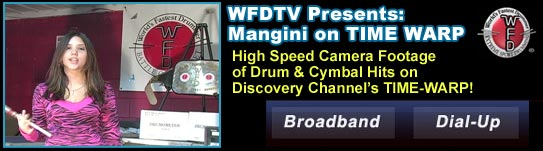Mike Mangini and DRUMOMETER Featured on Discovery Channel: TIME-WARP
